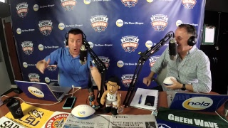 Dunc and Holder on Sports 1280 in New Orleans. March 5, 2018