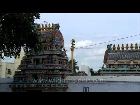 Meenakshi Sundareswarar Temple or Meenakshi Amman Temple