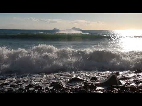 Relaxing Sound of Sea Waves 1 Hour / Calming, Sleep, Study...