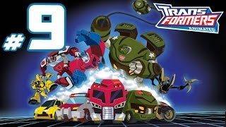 Transformers Animated - PART 9 - The Great Decepticon Drones