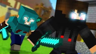 Best of Hacker vs Square Face x Psycho Girl Songs (Top Minecraft Songs)