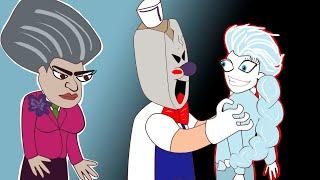 Троллфейс: Мороженщик и Мисс Ти - Злая училка| Scary Teacher (анимация)