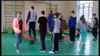 Інноваційний урок з фізичної культури. Гімнастика. 8 клас