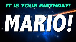 HAPPY BIRTHDAY MARIO! This is your gift.