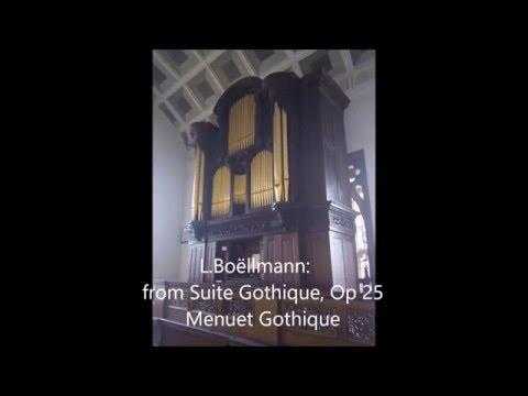 Organ Recital - Mendelssohn, Brahms, Boëllmann and S.S. Wesley