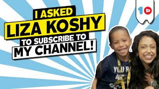 VIDCON 2019 Day 3 & 4 -Brayden asks Liza Koshy to subscribe to his youtube channel | Brayden Chase