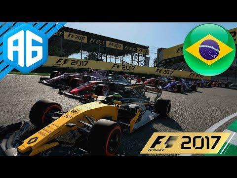 F1 2017 #39 GP DO BRASIL - EM BUSCA DA POSIÇÃO INÉDITA EM CASA (Português-BR)