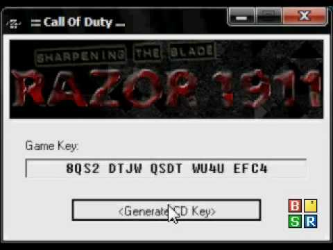 cod4 cd key generator download