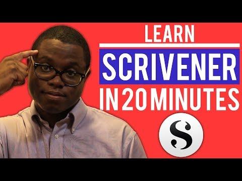 Learn Scrivener In 20 Minutes