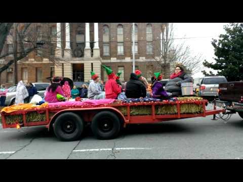 Shelbyville, Tenn., Christmas Parade 2014