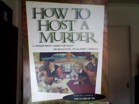 How To Host A Murder - The Class of '54  *Report of Investigation and Secret Clue #1