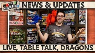 News (2018-04-06): Live / Table Talk / Dragons