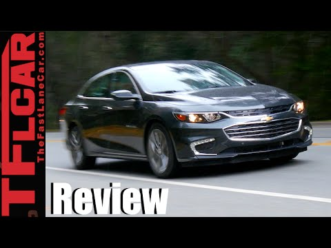 2016 Chevy Malibu First Drive Review: Longer, Leaner & Sexier GM Sedan