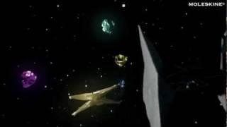 Moleskine ®  Star Wars ™ : The origami battle