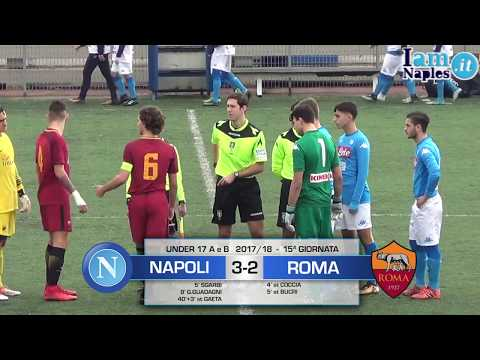 IAMNAPLES.IT - Under 17 A e B, Napoli-Roma 3-2. Gli highlights del match