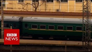 Why do North Korean leaders like to travel by train? - BBC News