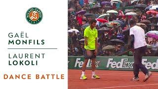 Dance Battle Between Gaël Monfils and Laurent Lokoli - Roland-Garros
