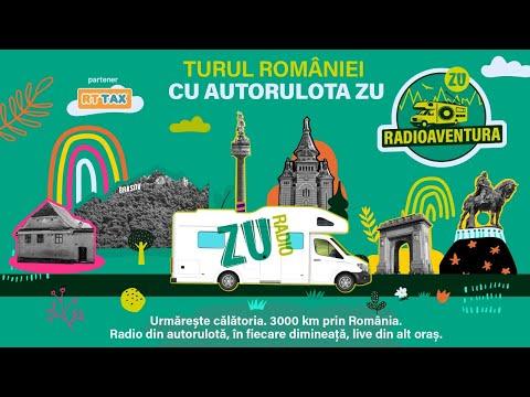 RADIOAVENTURA. Turul ROMÂNIEI cu AUTORULOTA ZU. Urmărește călătoria!