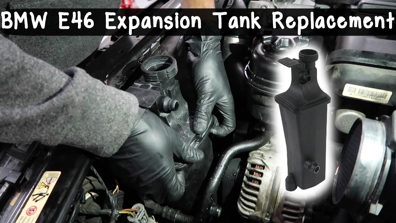 hight resolution of how to replace bmw e46 expansion tank