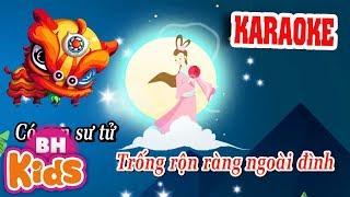 KARAOKE Lyrics ♫ Đêm Trung Thu ♫ Thùng thình thùng thình | Nhạc Thiếu Nhi Có Lời lyrics