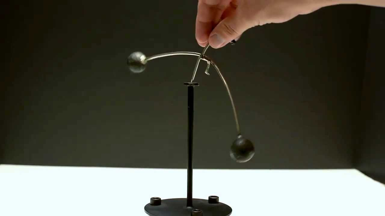 ... Man - Kinetic Balancing Sculpture Perpetual Motion Toy - YouTube