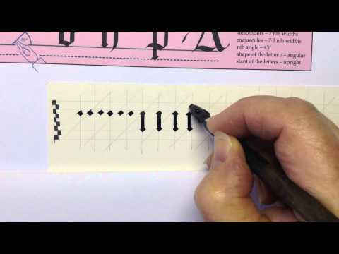 Gothic Book Script/Black Letter 2
