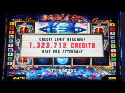 Jewels 4 All deluxe JACKPOT Max Bet