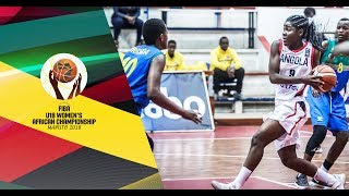 LIVE 🔴 - Angola v Rwanda - FIBA U18 Women's African Championship 2018