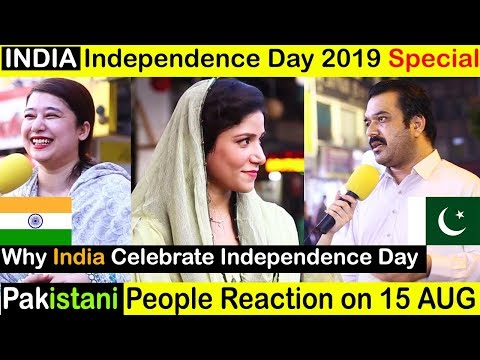 INDIA Independence Day Pakistan Reaction | 15 August INDIAN
