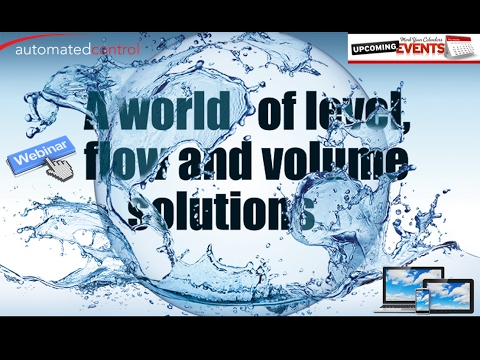 Level & Flow Solutions for Water Management
