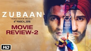 Zubaan | Movie Review 2 | Vicky Kaushal & Sarah Jane Dias