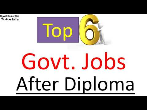 Top 6 Govt Jobs After Diploma In (Mechanical, Electrical, Civil) Engineering For Fresher In Hindi