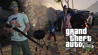 "GTA 5 Online: NEW ""Musket Rifle"" Gameplay! ""Independence Day DLC Guns"" Patch Update 1.15"