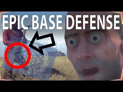 "EPIC BASE DEFENSE | Rust Season 1 | Episode 4 - ""We Made It Lads"""