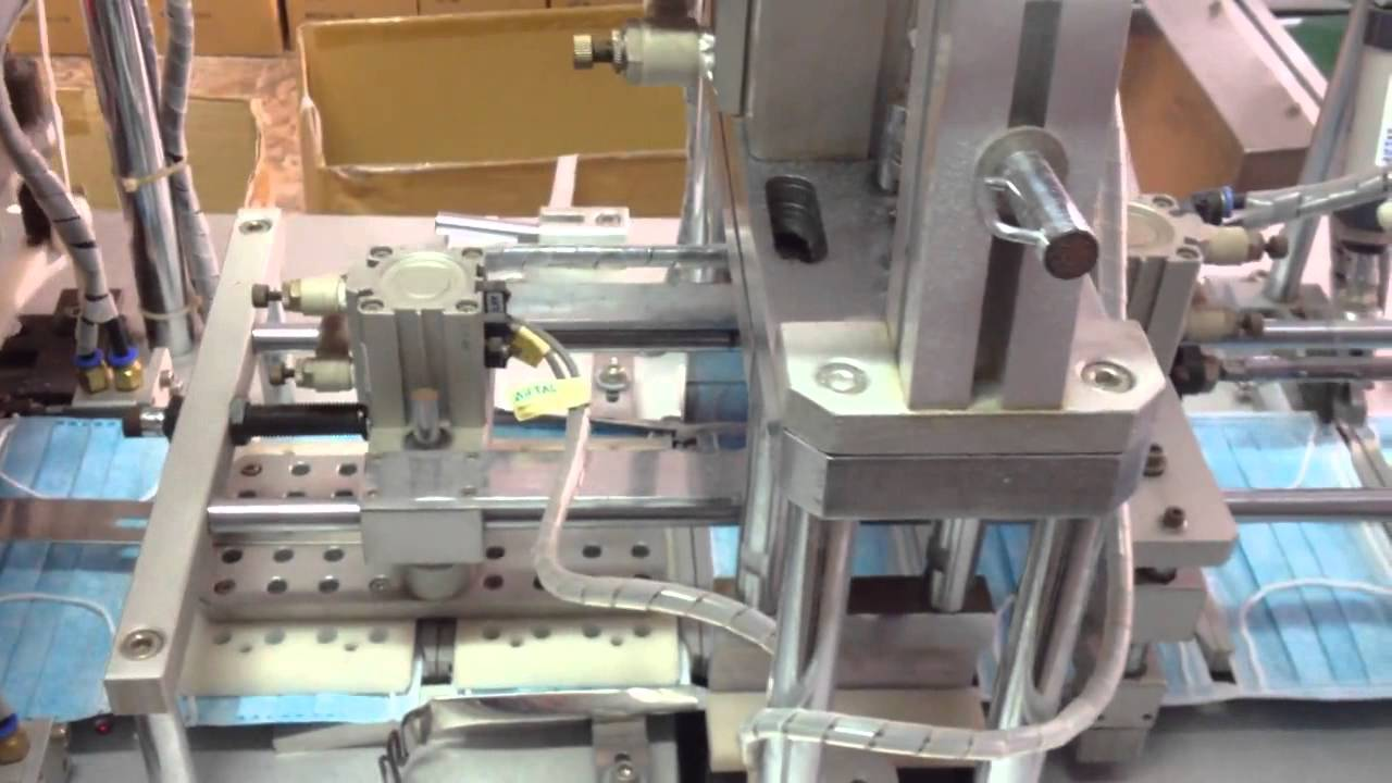 Sửa chữa máy làm Khẩu trang Y tế - YouTube