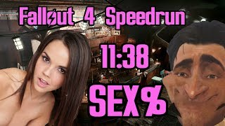 Fallout 4 Sex% Speedrun in 11:38 (World Record)