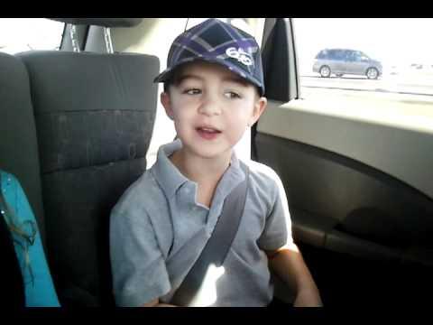 "Kade 5 years old... ""i love u Taylor Swift!"""