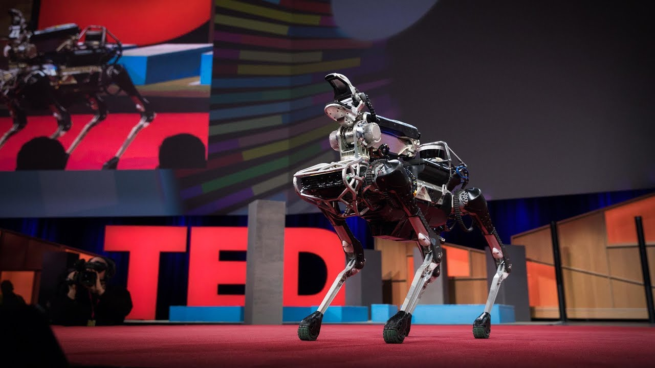 Meet Spot, the robot dog that can run, hop and open doors | Marc ...