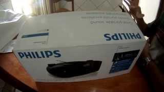 Som Portátil Philips CD Soundmachine AZ3811 - Umboxing