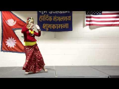 lahana le jurayo ki Dance Performance by Sharmila Malla