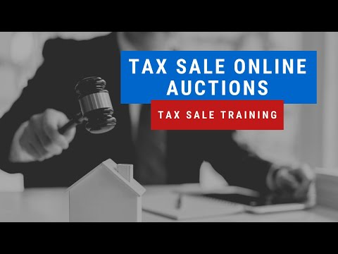 "Tax Sale Investing ""Online Auctions"" Tutorial - Tax Liens & Tax Deeds Research"