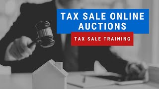 Tax Sale Investing Online Auctions Tutorial - Tax Lien & Tax Deed Sale Research