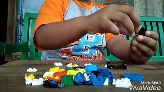 MEMBUAT MOBIL DARI LEGO