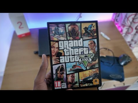 GTA 5 Pc Unboxing In Hindi