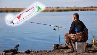 Клей для рыбалки .Как насадить всё что угодно на крючок