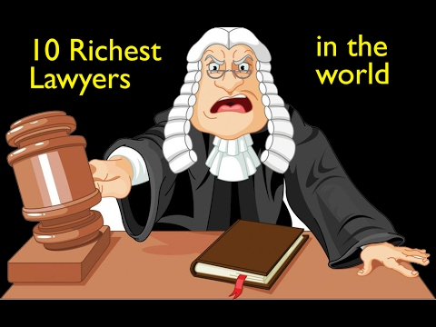 The TOP 10 richest lawyers in the world-wrongful death lawyer-personal injury