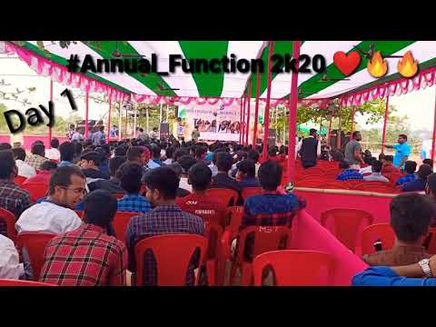 Annual Function 🤟🥰 Kmbb Engineering Clg //😍 #Thrill_2k20🔥🔥