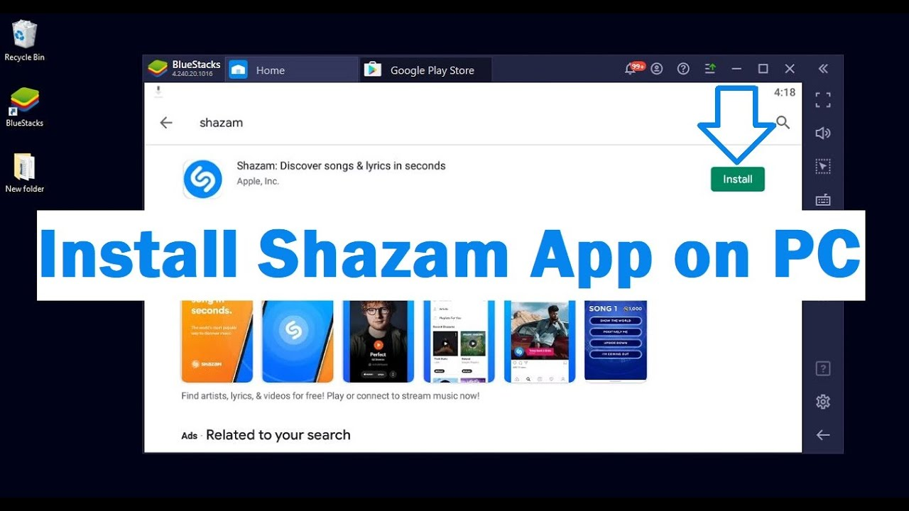 Download How To Install Shazam App on Your PC Windows & Mac?