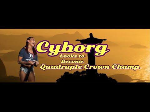 Cris Cyborg wants to make Quadruple Crown Champion History at Bellator LA Bellator 238 V Julia Budd