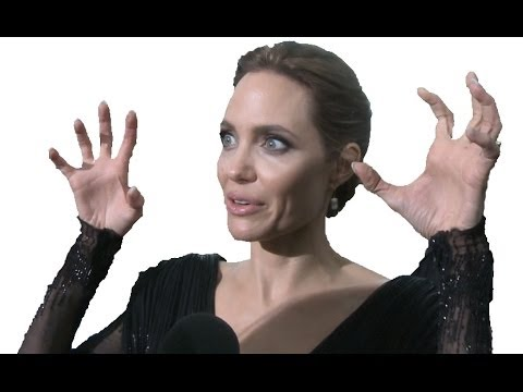 Angelina Jolie Interview at Maleficent Premiere